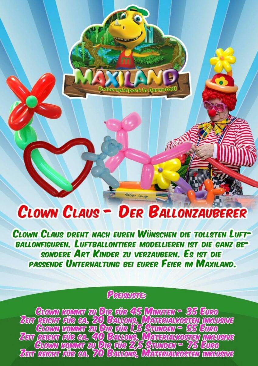 Clown Claus